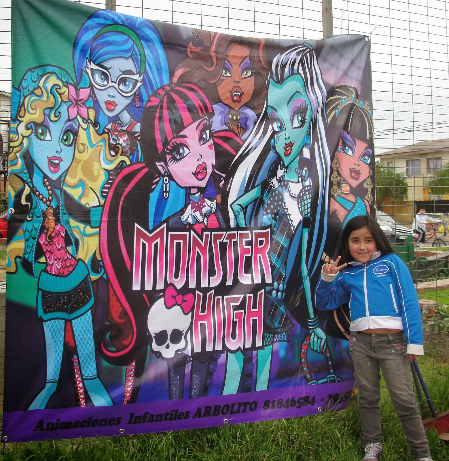 ARRIENDO DE PENDONES MONSTER HIGH