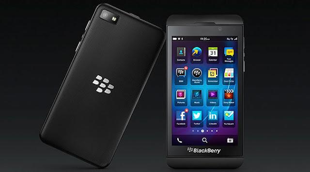 Negara yang Paling Terobsesi BlackBerry Z10