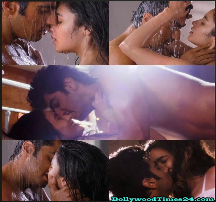 Alia Bhatt-Arjun Kapoor-Hot Kissing-Picture-2 States Movie
