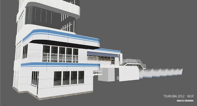 Circuito de Tsukuba en el simulador