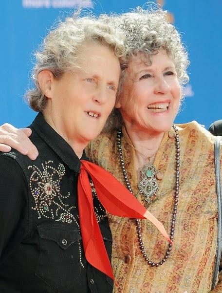 Temple Grandin se svou maminkou Eustacií Cutler