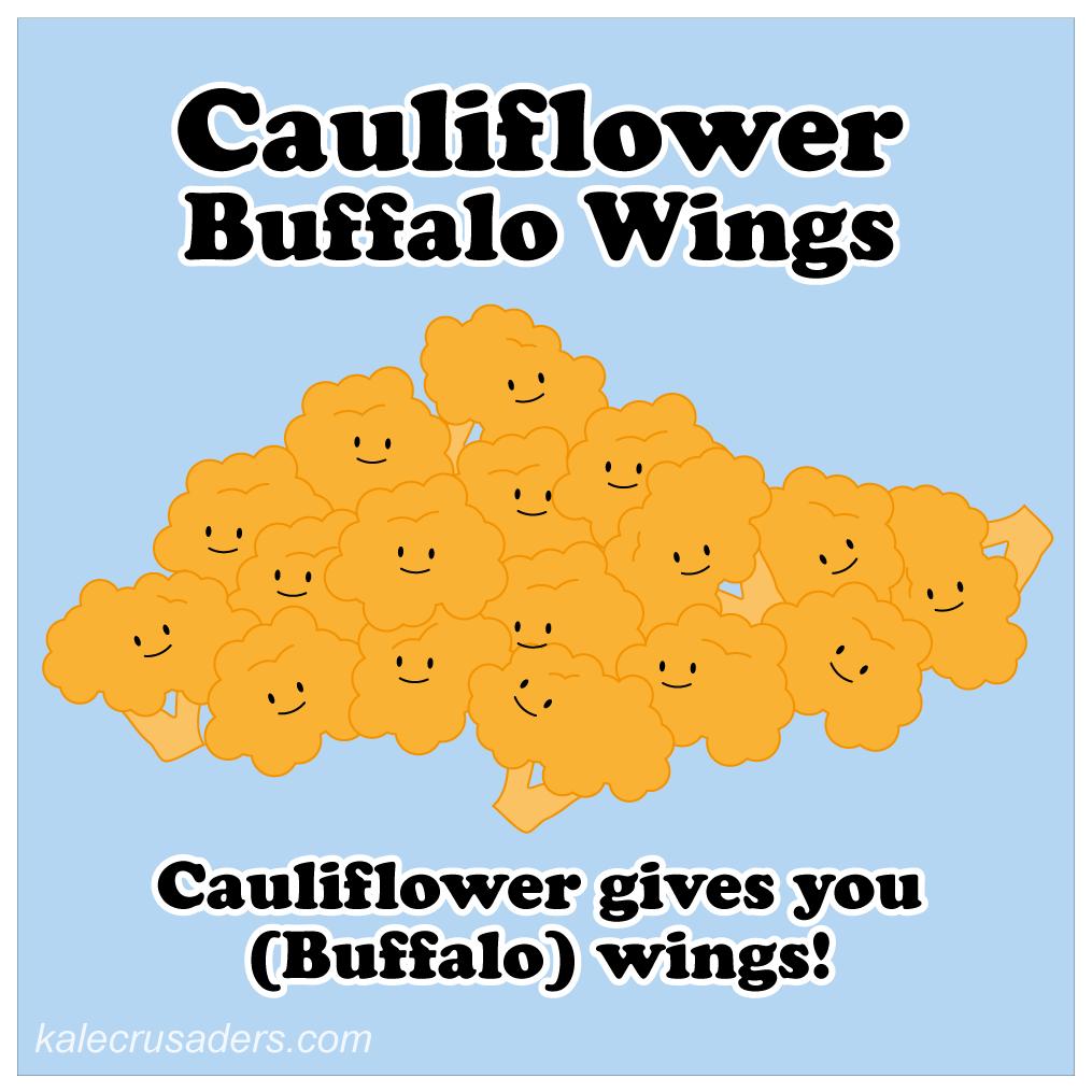 Cauliflower Buffalo Wings; Vegetarian Buffalo Wings; Vegan Buffalo Wings; Chicken-free Buffalo Wings
