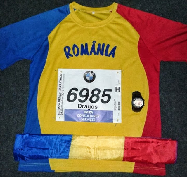 Dragos Ciobanu. Berlin Marathon 2013