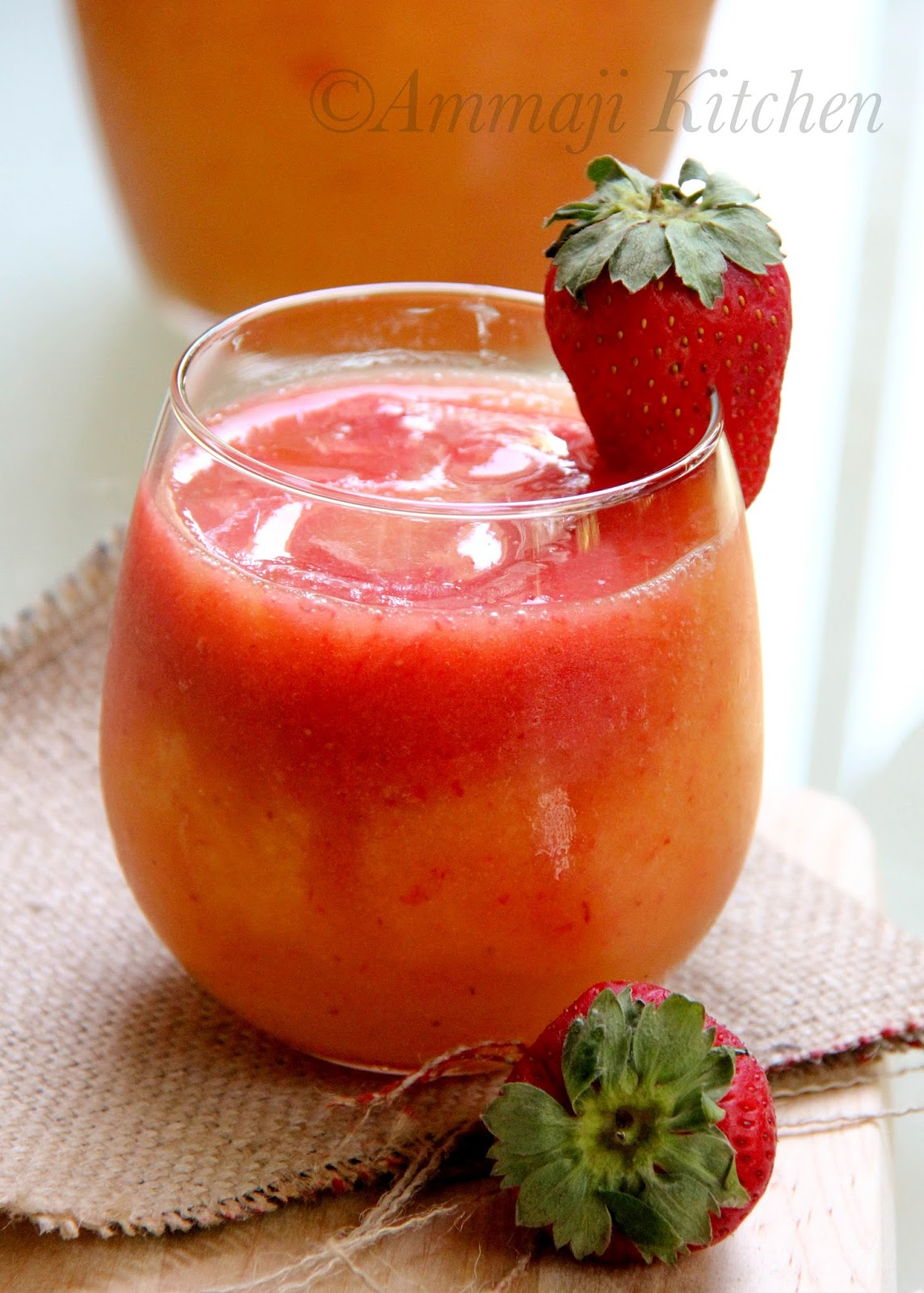 Mango Strawberry Punch