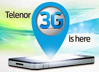 telenor 3g internet packge details