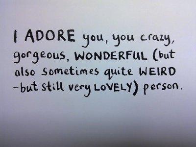 I Adore You Quotes