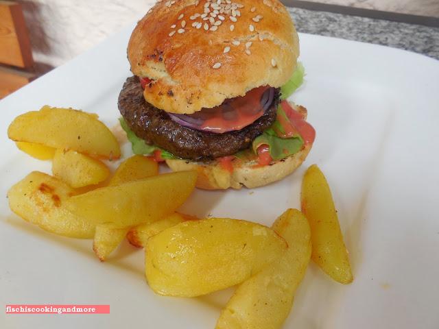 fischiscooking, wagyu burger