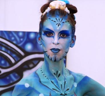 body painting airbrush body paint
