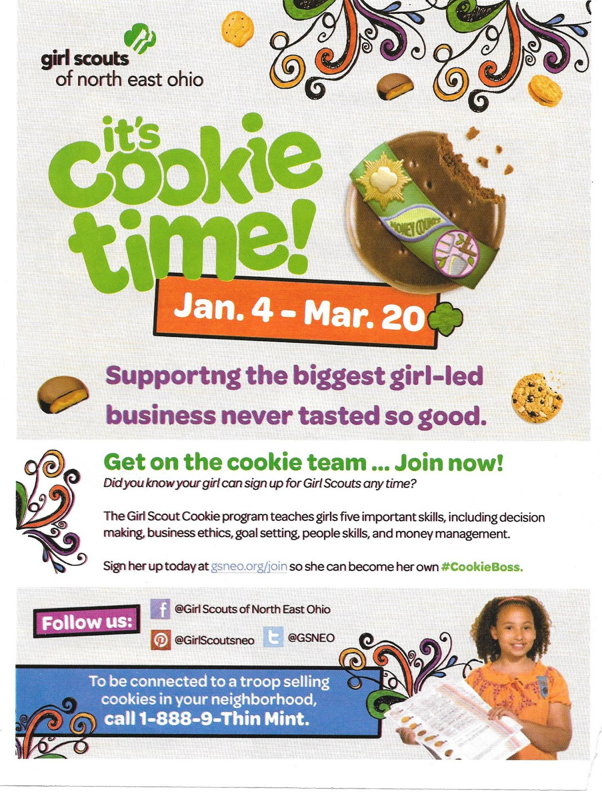 kidding around girl scout cookie time