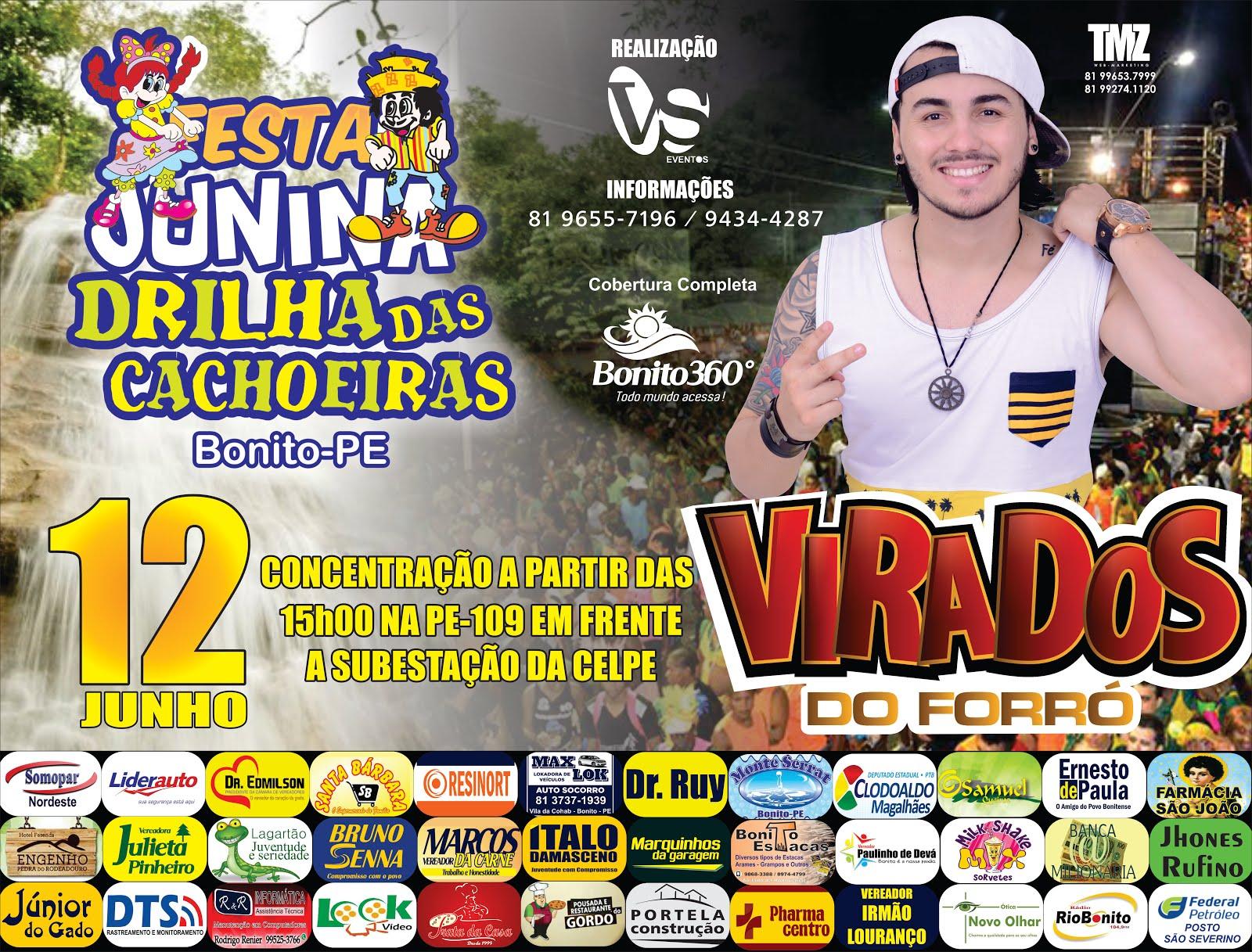DRILHA DAS CACHOEIRAS - 12 DE JUNHO