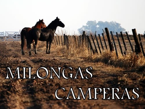MILONGAS CAMPERAS