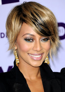 Hairstyles for short hair, Keri Hilson :