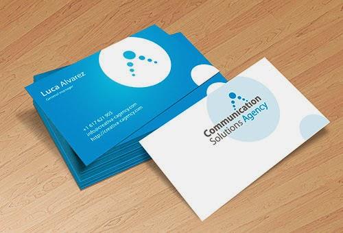 Diseño y uso de tarjetas de visita para un negocio