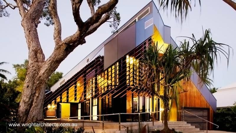 Residencia ultramoderna de arquitectura tropical en Australia