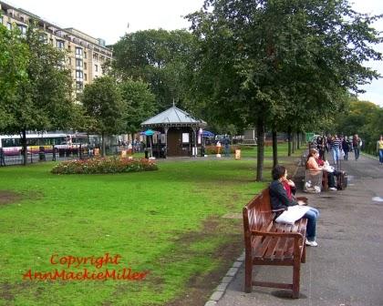 Queens Gardens Edinburgh