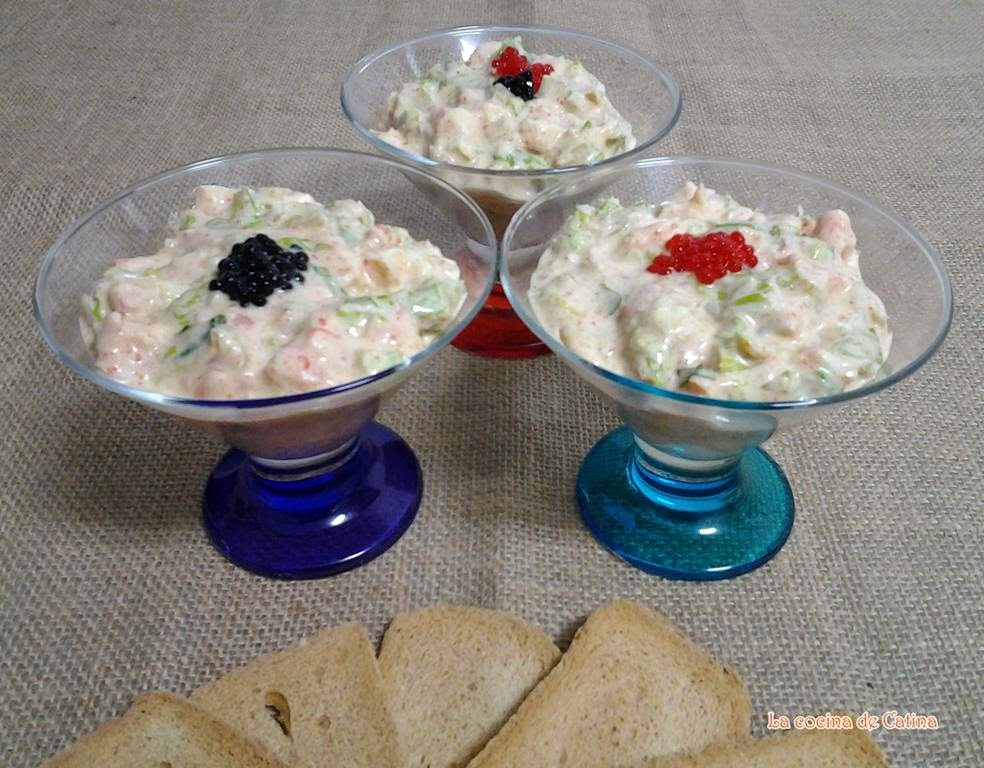 Coctel de mariscos la cocina de catina - Coctel de marisco ingredientes ...