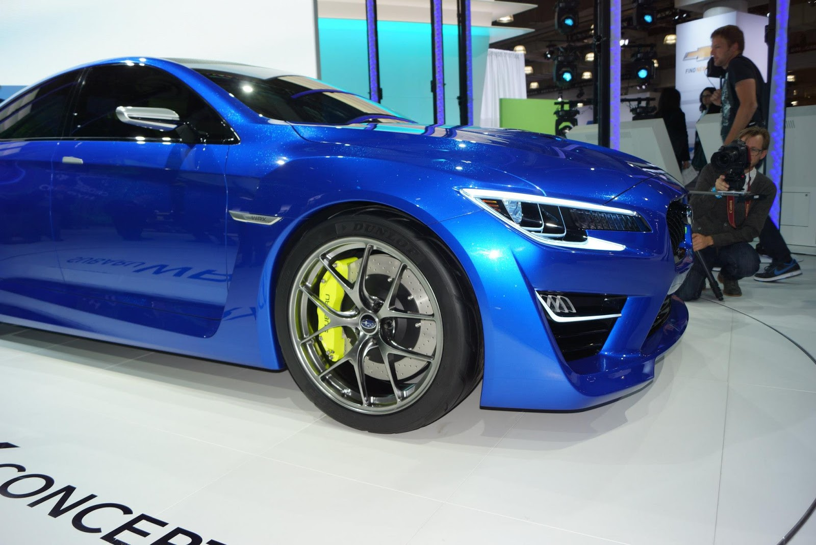 speedmonkey subaru wrx concept images from new york auto show. Black Bedroom Furniture Sets. Home Design Ideas