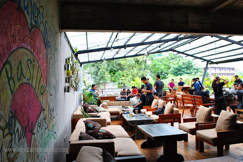 Basilia Candi, The Natural Kitchen Cafe & Dine