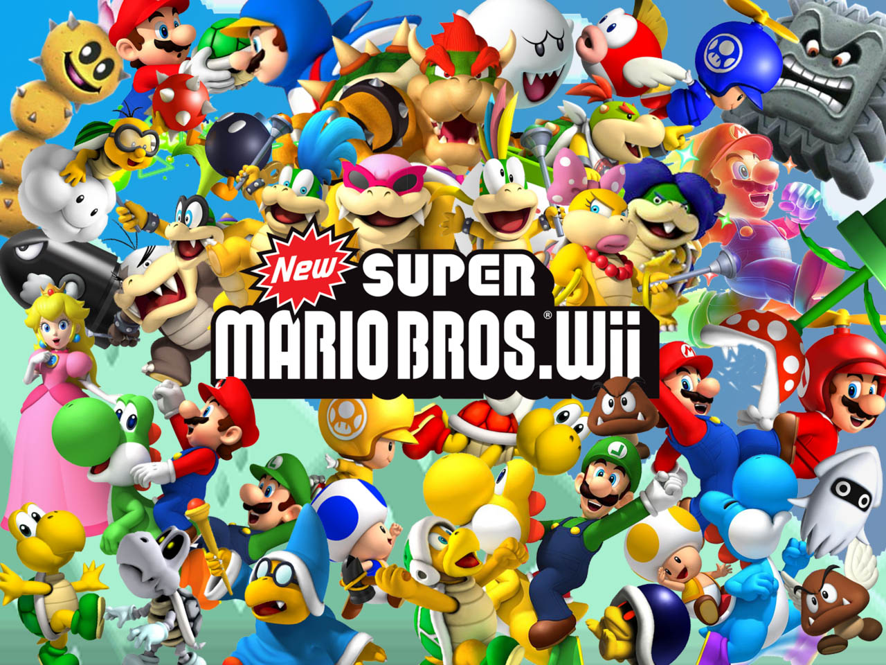 New Super Mario Bros Wii [ISO] [TORRENT]