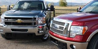 Sepintas Aksi Duel Pick-up Papan Atas, Chevrolet Silverado vs Ford F-150