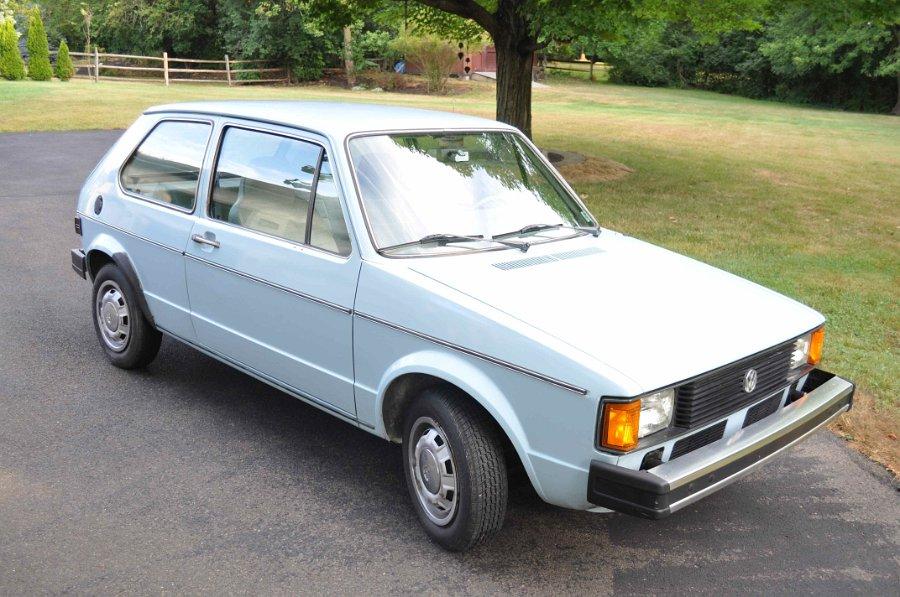 Just A Car Geek: 1981 Volkswagen Rabbit L - 8200 Original Miles