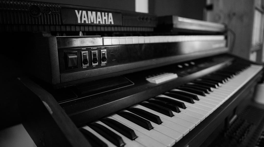 Birmingham recording studio Park Studios JQ | keyboard corner