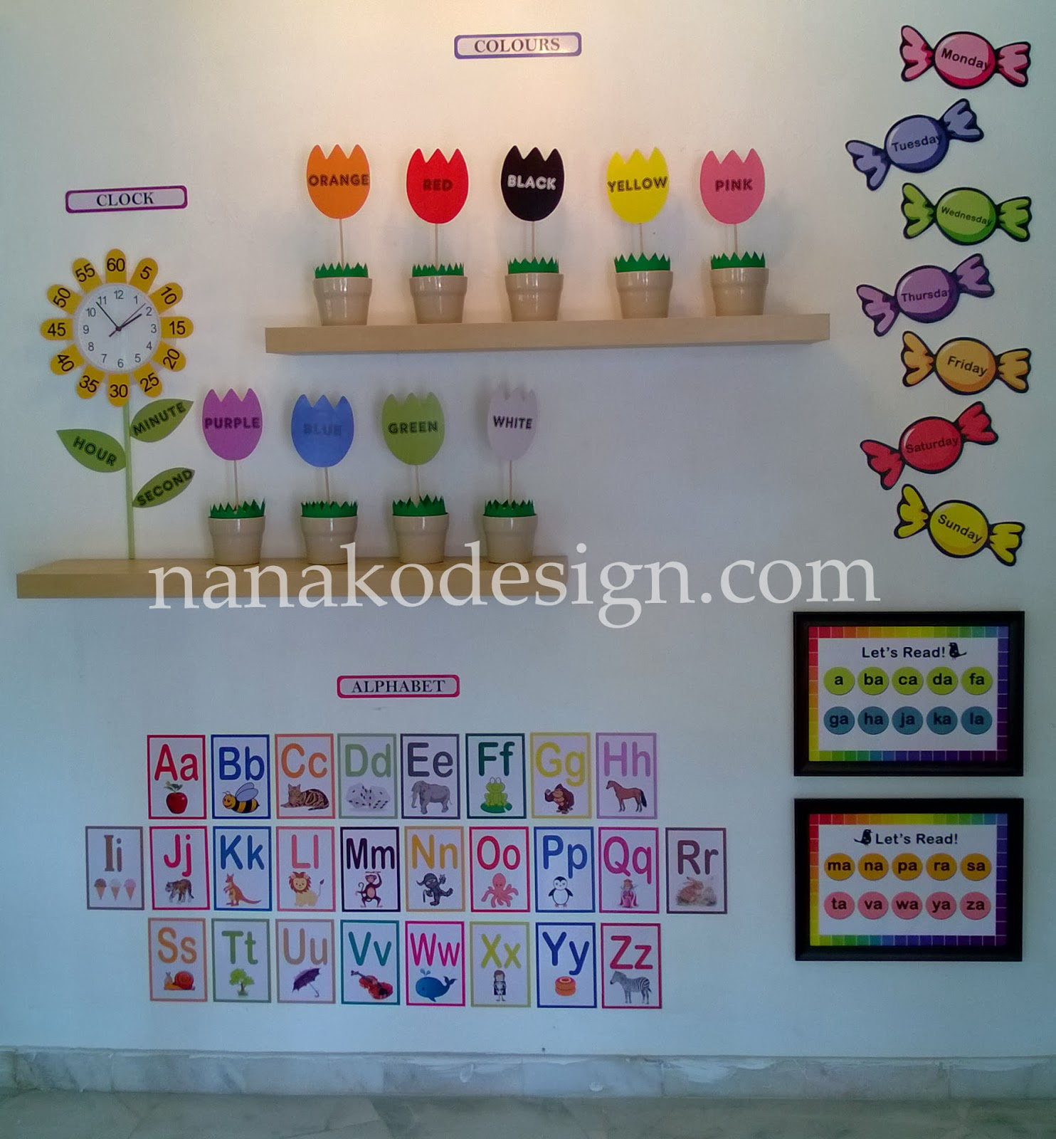 Kindergarten wall decoration ideas