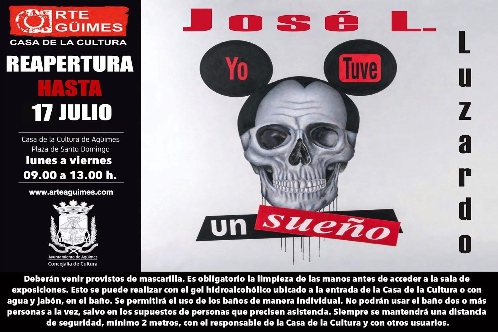 """""""Yo Tuve un sueño"""", de José L. Luzardo, en la Sala de Arte Agüimes"""