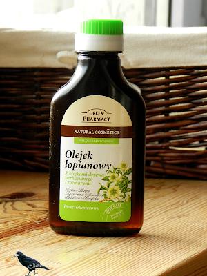 Olejek łopianowy z olejkami drzewa herbacianego i rozmarynu Green Pharmacy