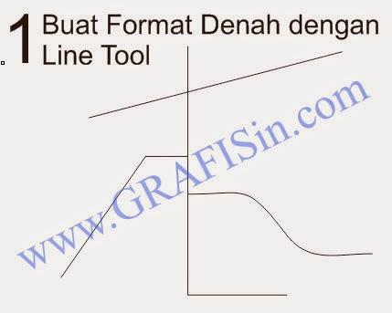 Membuat Denah dengan Freehand atau Bezier Tool CorelDraw