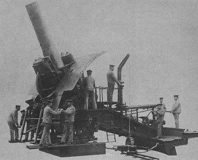 mortir jerman terbesar
