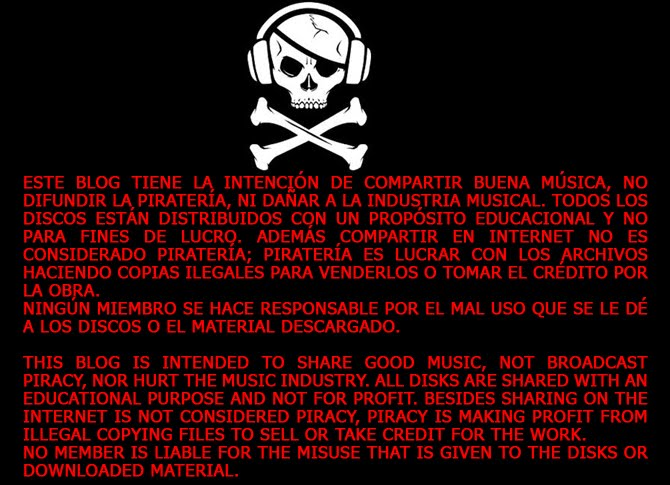 No a la Pirateria / Don't Do Piracy