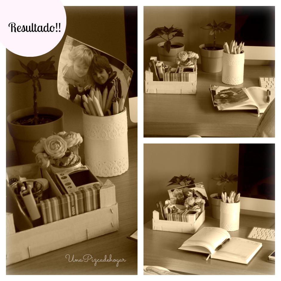 decoración fácil realizada en casa, a mano