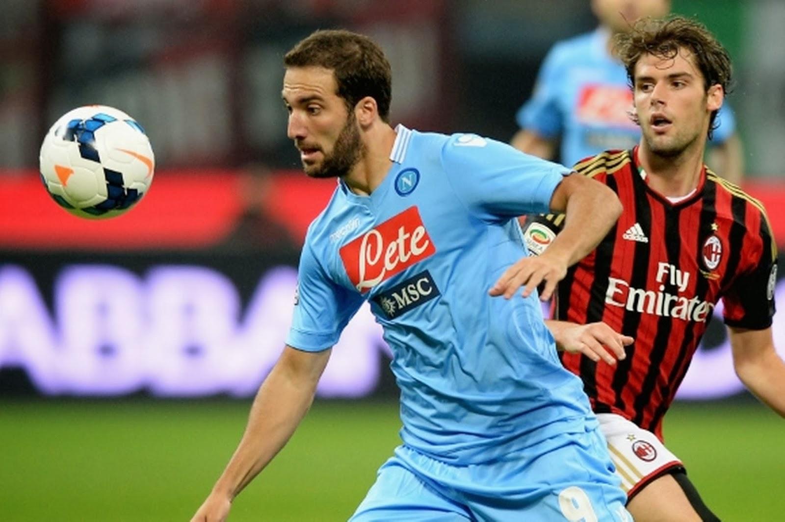 Review MatchDay 23 Liga Italia Serie A, Minggu 9/2, Napoli Vs AC Milan