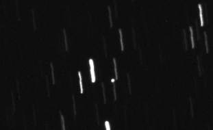 Asteroid LZ1 from the SLOOH SpaceCamera