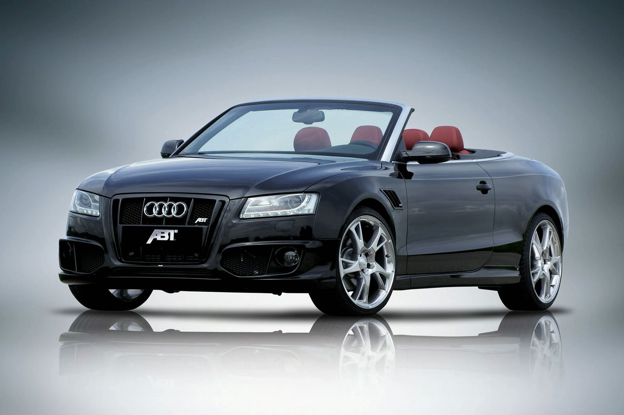 Latest Cars Zone: Caractere styles the Audi A5 Cabrio