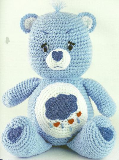 Crochet Spot » Blog Archive » Crochet Pattern: Heart Teddy Bear