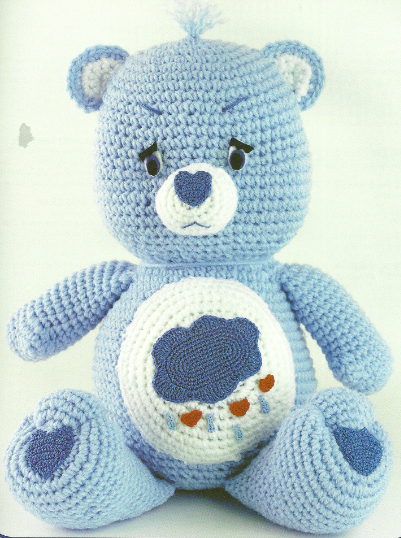 Amigurumi Care Instructions : By Vintage Design: Care Bears Crochet Patterns