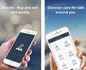 Shopping App of the Month - Gearth - Buy and Sell Cars
