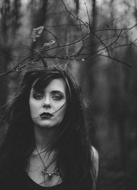 a Foto model konseptual dalam fotografia como arte