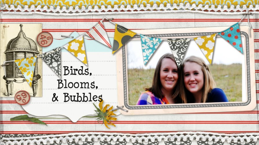 Birds, Blooms, and Bubbles