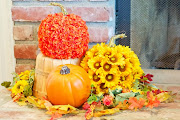 Pumpkin Flower Pots