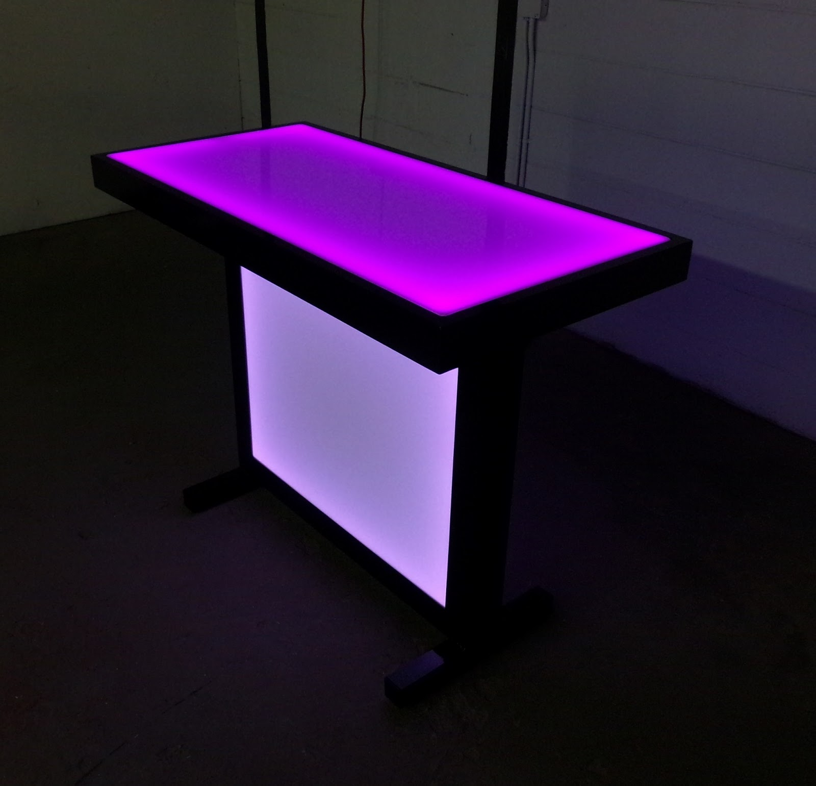 Beau The Party Table That Lights Up!