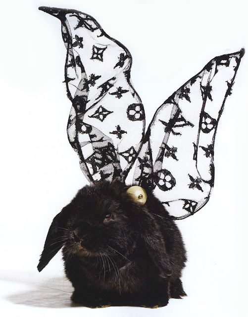 Louis Vuitton Easter Bunny Vogue