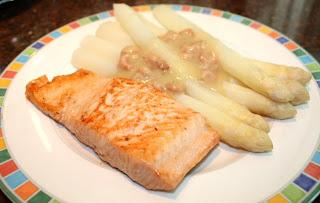 recept; recepten; hoofdgerecht; hoofdgerechten; asperges; vis; zalm; garnalen;
