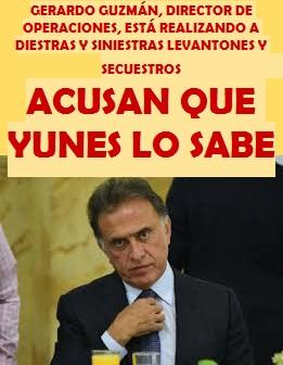GERARDO GUZMÁN, DIRECTOR DE OPERACIONES, ESTÁ REALIZANDO A DIESTRAS Y SINIESTRAS LEVANTONES...