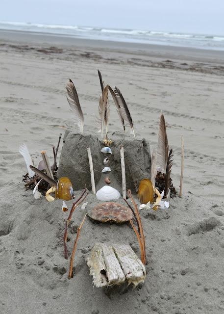 beach, ocean, lifestyle, washington, travel, sand, sandcastle