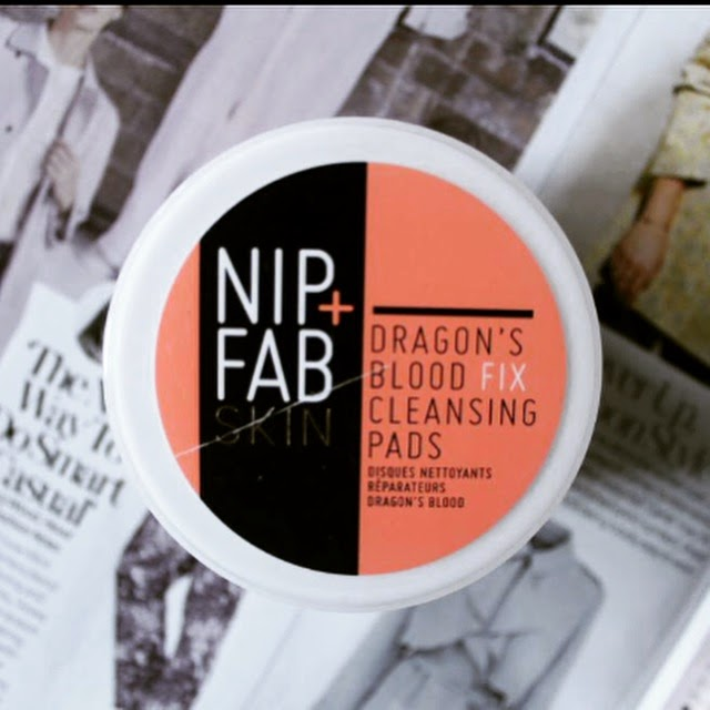 Nip+Fab Dragon's Blood Fix Cleansing Pads Review