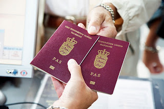 Denmark Danish Passport Green Card Scheme