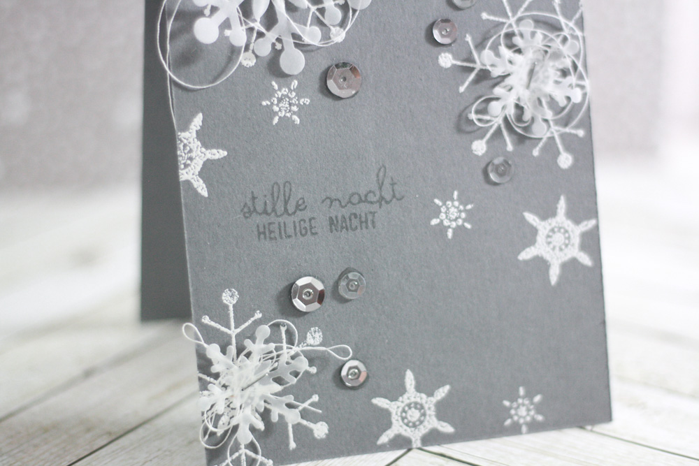 Snowflakes on a Card   jklein   Daily inspiration from our bloggers